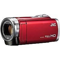 JVCKENWOOD JVC ビデオカメラ Everio 60倍ダイナミックズーム レッド GZ-E109-R