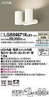 パナソニック(Panasonic) スポットライト LGB84671KLE1 調光不可 温白色 ホワイト
