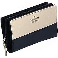 purchase cheap 86e98 a35e7 二つ折り財布 バイカラー ベージュ×ブラック ケイトスペード ...