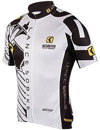 自転車 ウェア 春夏用吸汗速乾サイクルジャージ半袖、おしゃれなサイクリングファッション