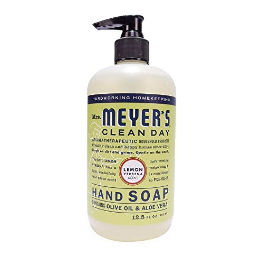 間歩行者浸漬Mrs. Meyer's Hand Soap Lemon Verbena, 12.5 Fluid Ounce (Pack of 3) by Mrs. Meyer's Clean Day