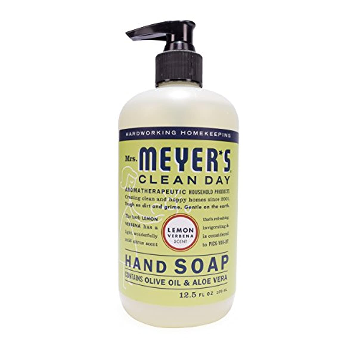 会話協定半導体Mrs. Meyer's Hand Soap Lemon Verbena, 12.5 Fluid Ounce (Pack of 3) by Mrs. Meyer's Clean Day
