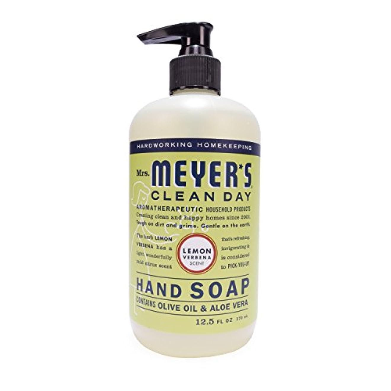 シーン幻影やりがいのあるMrs. Meyer's Hand Soap Lemon Verbena, 12.5 Fluid Ounce (Pack of 3) by Mrs. Meyer's Clean Day