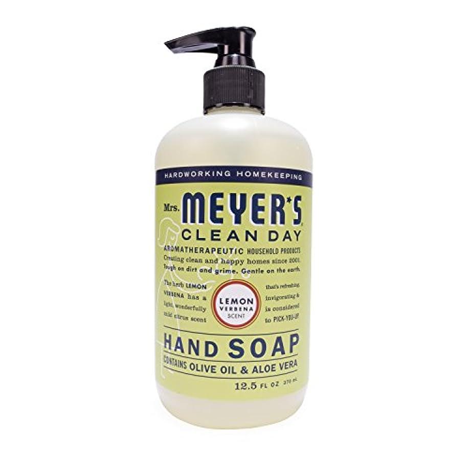 創始者財産機動Mrs. Meyer's Hand Soap Lemon Verbena, 12.5 Fluid Ounce (Pack of 3) by Mrs. Meyer's Clean Day
