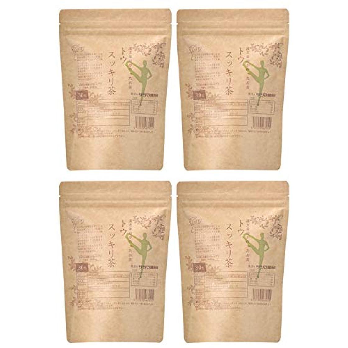 独創的作成者立場サツマ薬局 ダイエットティー トウスッキリ茶 120包(30包×4) ティーパック 高濃度コタラヒム茶 ほうじ茶