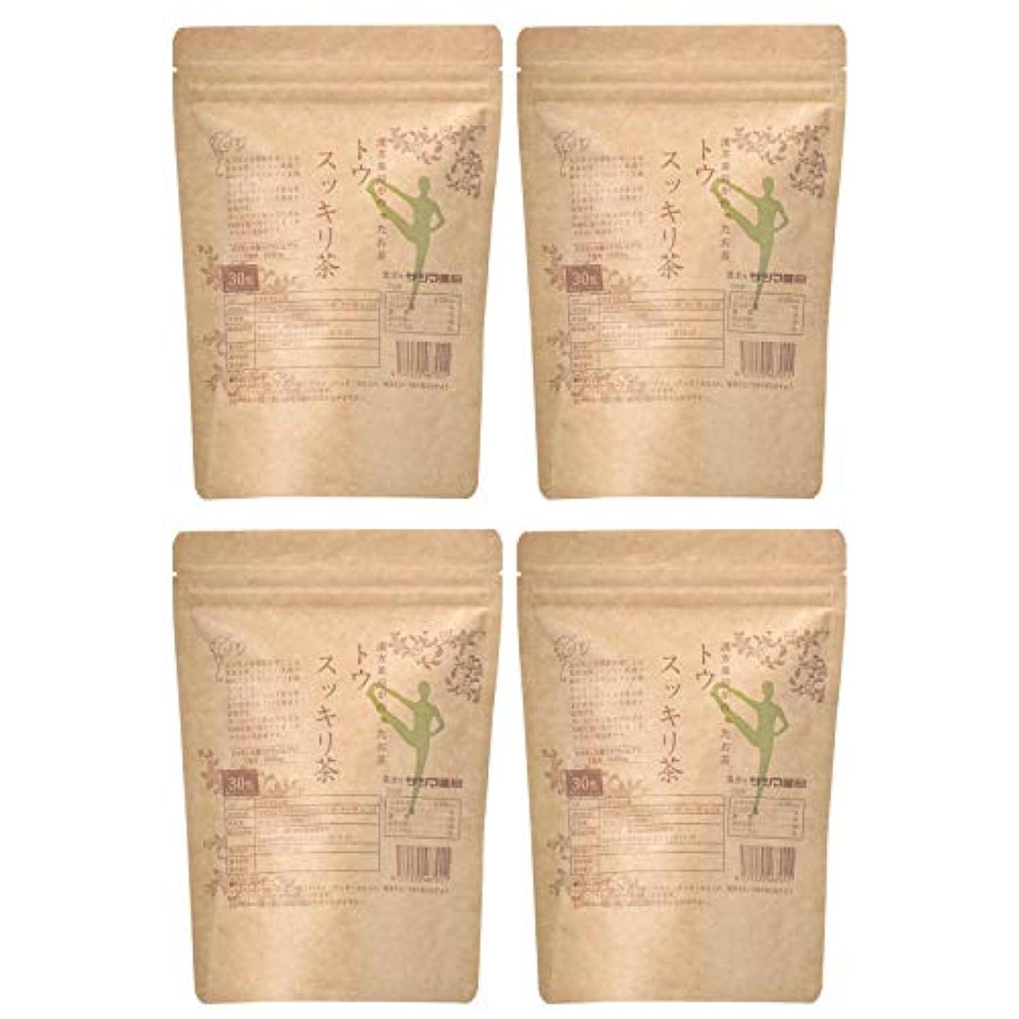 バウンス一掃する意気消沈したサツマ薬局 ダイエットティー トウスッキリ茶 120包(30包×4) ティーパック 高濃度コタラヒム茶 ほうじ茶