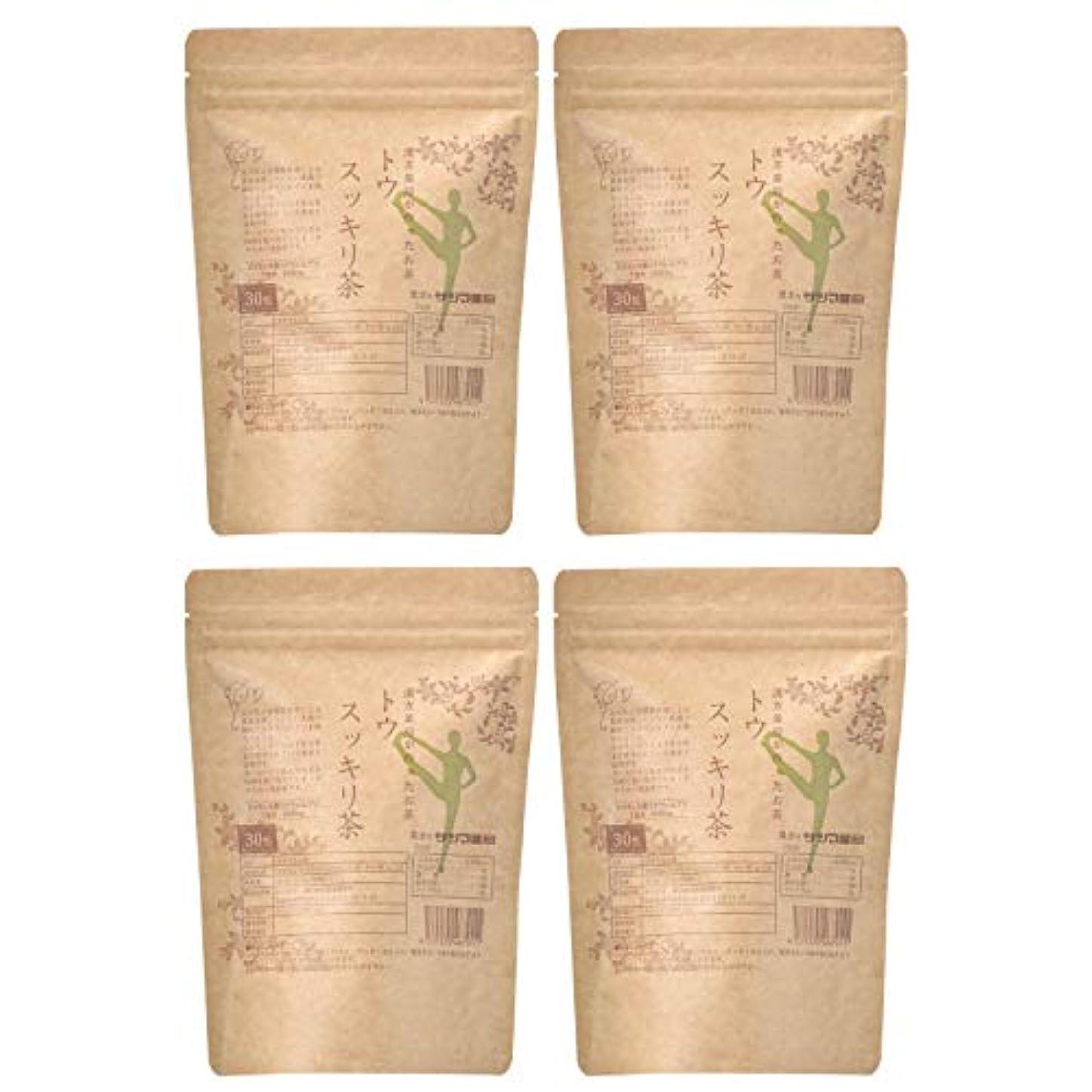 ギャザー学校教育望むサツマ薬局 ダイエットティー トウスッキリ茶 120包(30包×4) ティーパック 高濃度コタラヒム茶 ほうじ茶