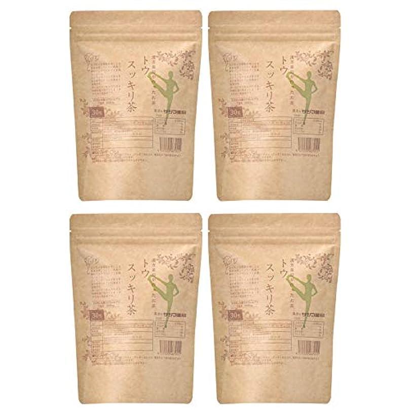 アーティストバレーボール鎮静剤サツマ薬局 ダイエットティー トウスッキリ茶 120包(30包×4) ティーパック 高濃度コタラヒム茶 ほうじ茶