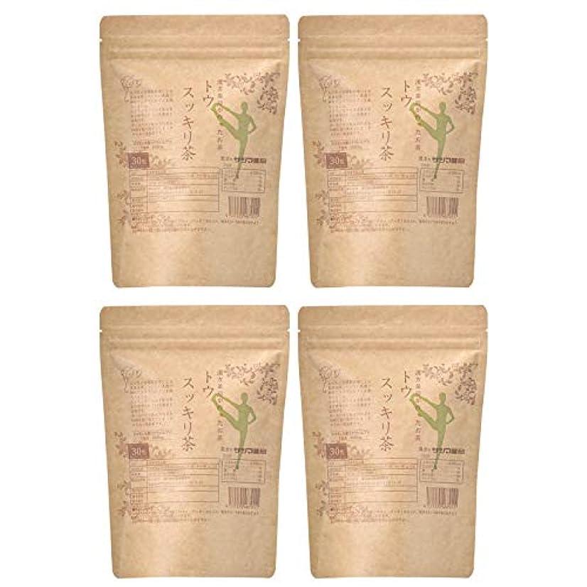 リーダーシップ思われる誠実サツマ薬局 ダイエットティー トウスッキリ茶 120包(30包×4) ティーパック 高濃度コタラヒム茶 ほうじ茶