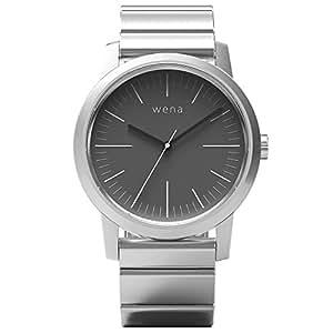 [wena project] wena wrist Three Hands Silver WN-WT01S