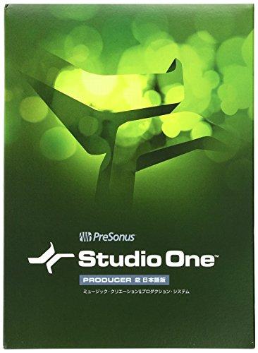 PreSonus プリソーナス 音楽制作ソフト Studio One Producer 2