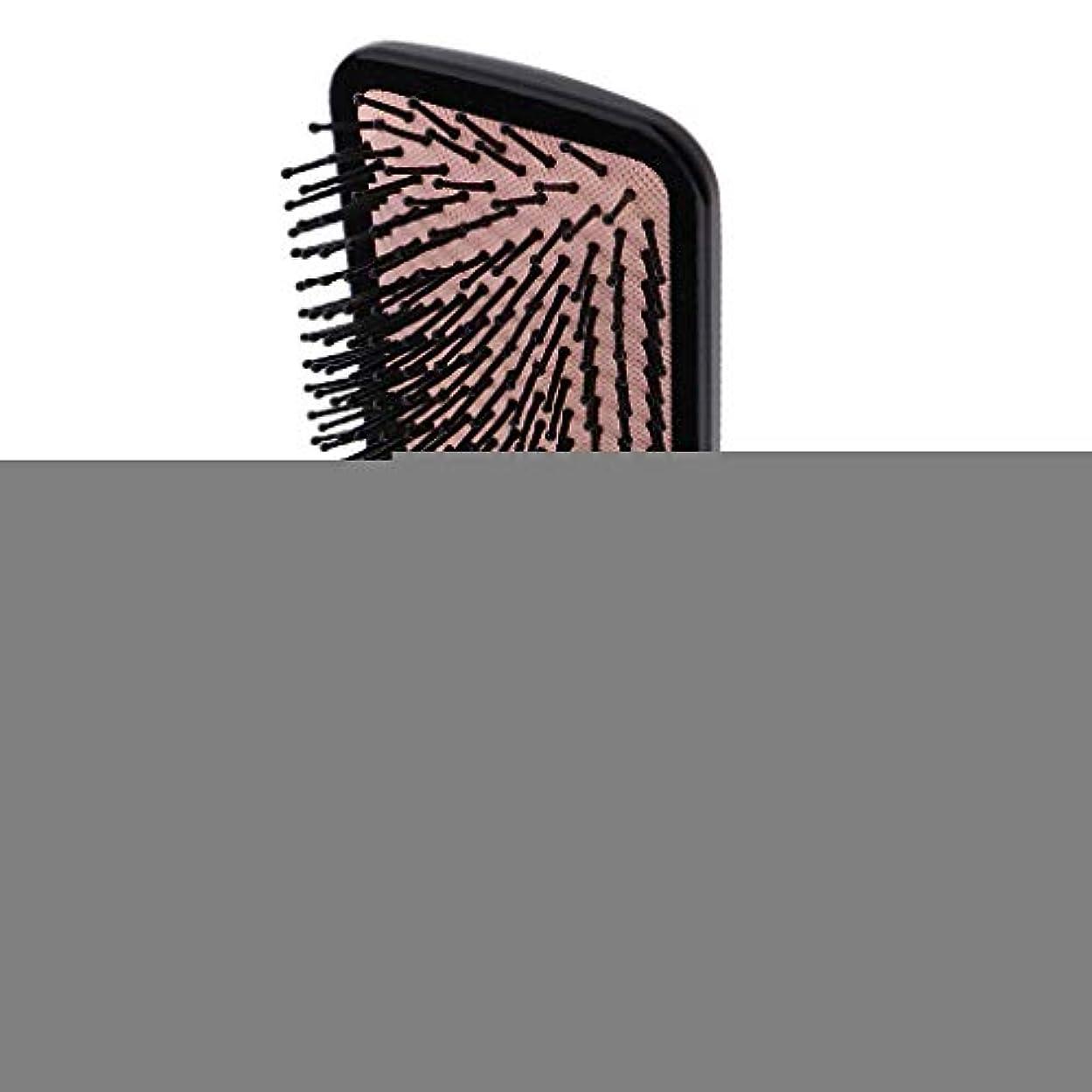 迷惑例外青Perfeclan ヘアブラシ 櫛 くし 頭皮/肩/顔マッサージコーム 美髪ケア 血行促進 薄毛改善 全2サイズ - スクエア
