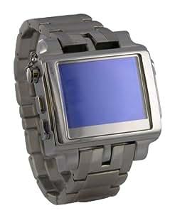 サンコ- MP4 Watch Metal 4GB 革バンド MP4LE4GB