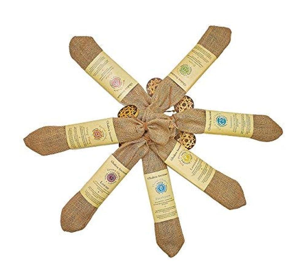 方向束ねる味純正Chakra Incense Sticks 210 sticks Variety Pack of 7異なるFlavors