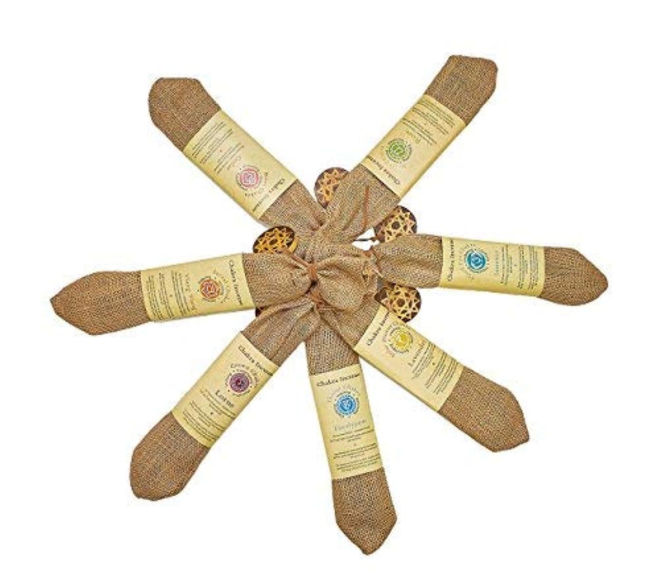 関与する子犬クライストチャーチ純正Chakra Incense Sticks 210 sticks Variety Pack of 7異なるFlavors