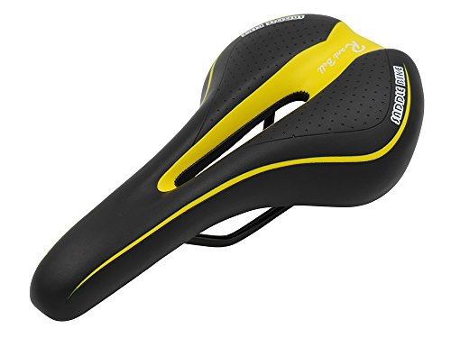 Rant Bell(ラント ベル) 自転車 サドル スポーツ用 痛くない クッション 穴空き (黄)