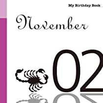 11月2日 My Birthday Book
