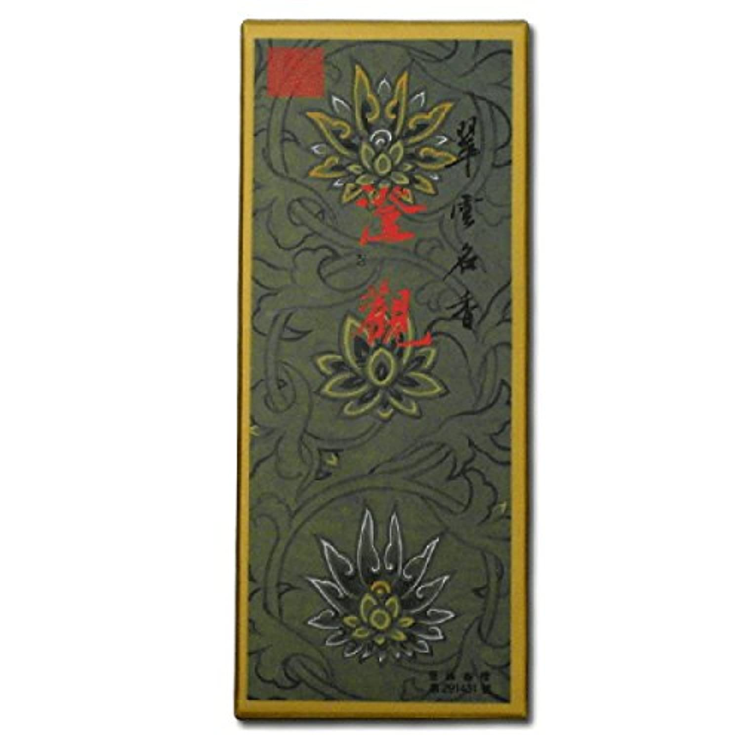 Temple Incense Jing Kwan (クリアGaze ) Oriental Incense Large 120スティックボックス