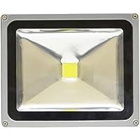 SEIKOH LED投光器 30W 白色 6000K 電源コード 3M 広角 防水 A42C