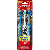 Colgate Toothbrush for Kids 2+ (Pack of 3) Color May Vary