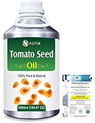 Tomato Seed (Lycopersicon Esculentum) 100% Pure Natural Carrier Oil 5000ml/169 fl.oz.