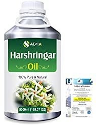 Harshringar (Nyctanthes arbor-tristis) 100% Natural Pure Essential Oil 5000ml/169fl.oz.