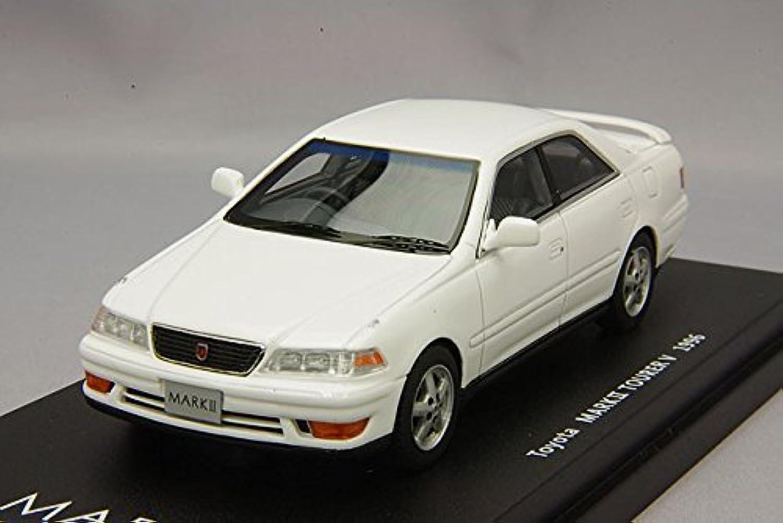 LA-X 1/43 トヨタ マークII ツアラーV 1996年 スーパーホワイトII 完成品