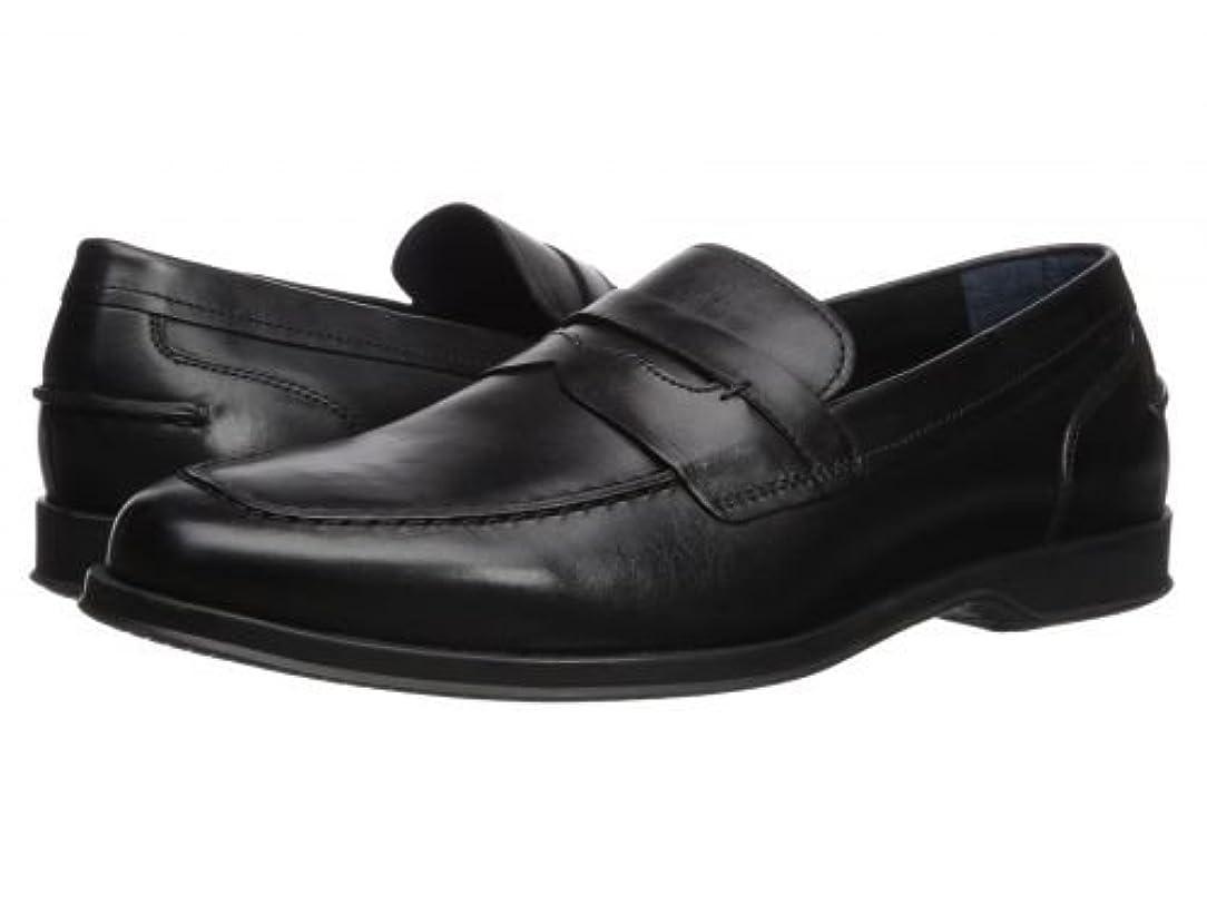 ベルト実り多いバドミントンCole Haan(コールハーン) メンズ 男性用 シューズ 靴 ローファー Fleming Penny Loafer - Black [並行輸入品]