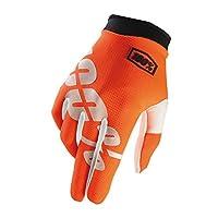 100% iTrack手袋オレンジオレンジサイズ: Medium byアンノウン