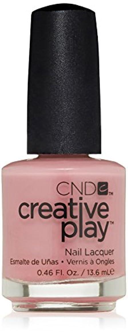 言い直す真面目なむさぼり食うCND Creative Play Lacquer - Oh! Flamingo - 0.46oz / 13.6ml