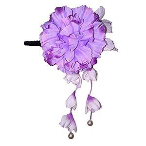 [粋花] Suika フラワークリップ 4054 パープル