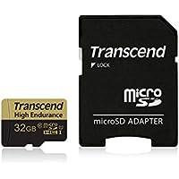 Transcend 高耐久 microSDHCカード MLCフラッシュ搭載 (ドライブレコーダー向けメモリ)32GB Class10 TS32GUSDHC10V
