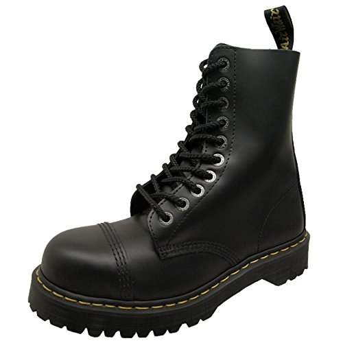 STEEL TOE 8761Z 10EYE TOE CAP BOOT Black 10966001