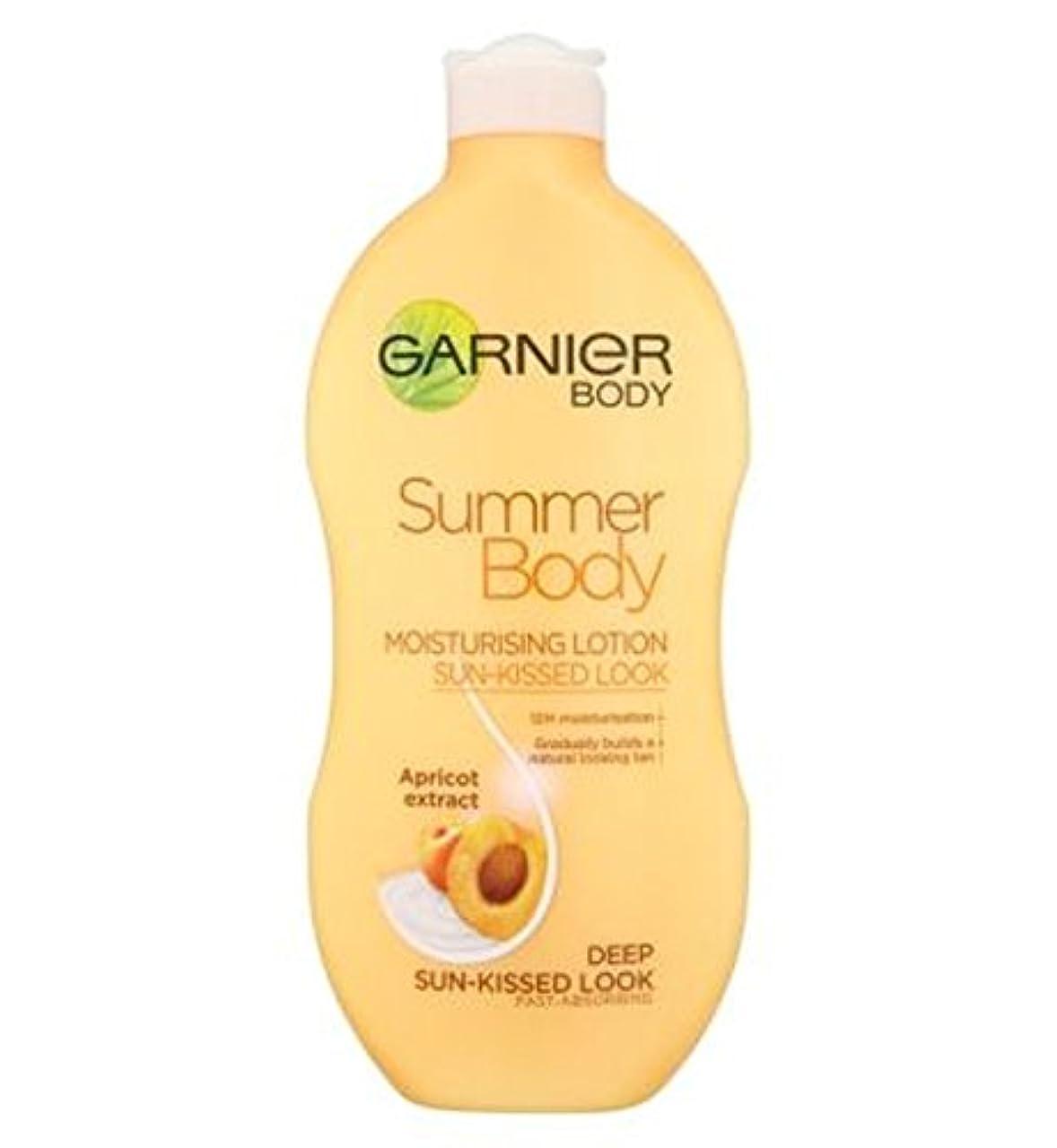 適用済み大西洋アッパーGarnier Summer Body Lotion Deep Sun-Kissed 400ml - ガルニエの夏のボディローション深い日、キスをした400ミリリットル (Garnier) [並行輸入品]