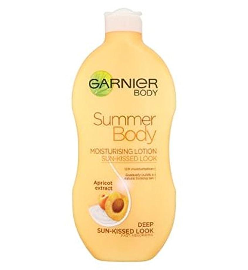 人事曲線アクティビティGarnier Summer Body Lotion Deep Sun-Kissed 400ml - ガルニエの夏のボディローション深い日、キスをした400ミリリットル (Garnier) [並行輸入品]