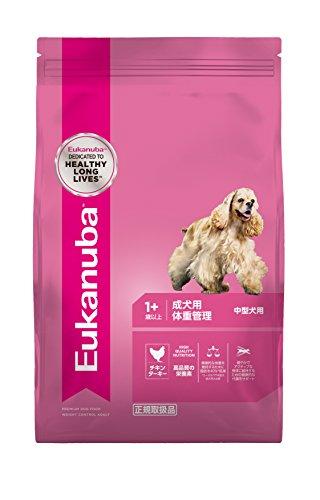 ユーカヌバ 体重管理用 中型犬種(小粒) 6kg