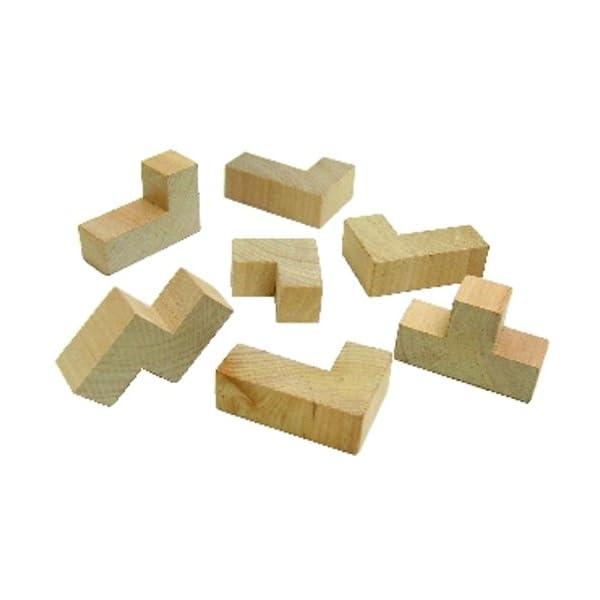 木製キューブパズルの紹介画像3
