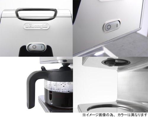 DeLonghi kMix(ケーミックス) ドリップコーヒーメーカー ホワイト 【6杯用】 CMB6-WH