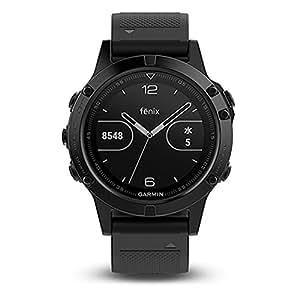 GARMIN(ガーミン) マルチ スポーツウォッチ fenix5 フェニックス5 Sapphire サファイア  GPS 腕時計 【日本正規品】 010-01688-66