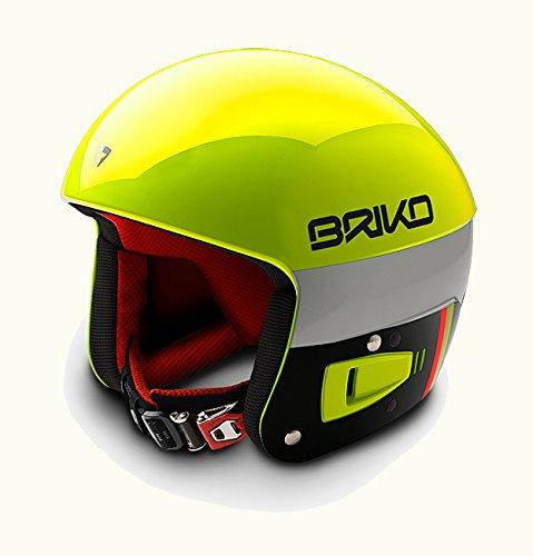 [해외] BRIKO(브리고)VULCANO 6.8 FIS6.8기준 레이싱 스노우 헬멧 SH0001- (SIZE:58|COLOR:Y015옐로우×오렌지 플론)