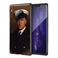 Luke Fildes Huawei Mate 30 Pro用ケース/ファインアート携帯電話ケース/高解像度ジクレーレベルUV複製プリント、携帯電話カバー(ポール・フィルデスir)