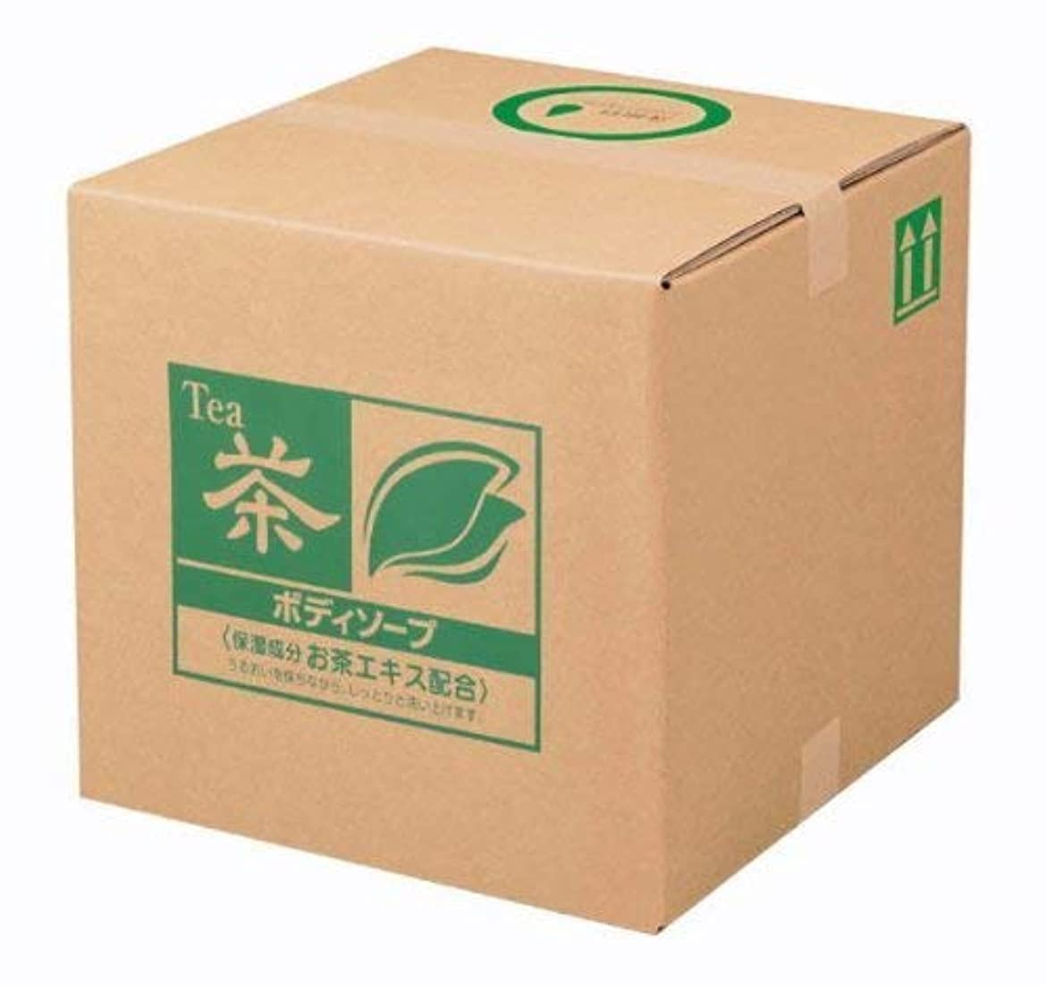 ロッドスピンヤギ業務用 SCRITT(スクリット) お茶 ボディソープ 18L 熊野油脂 (コック付き)