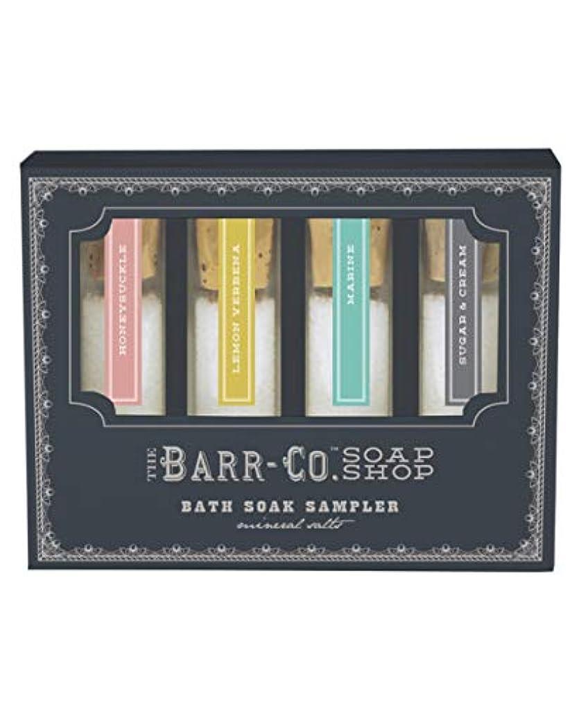 太字爪傾斜BARR-CO./バスソルトセット
