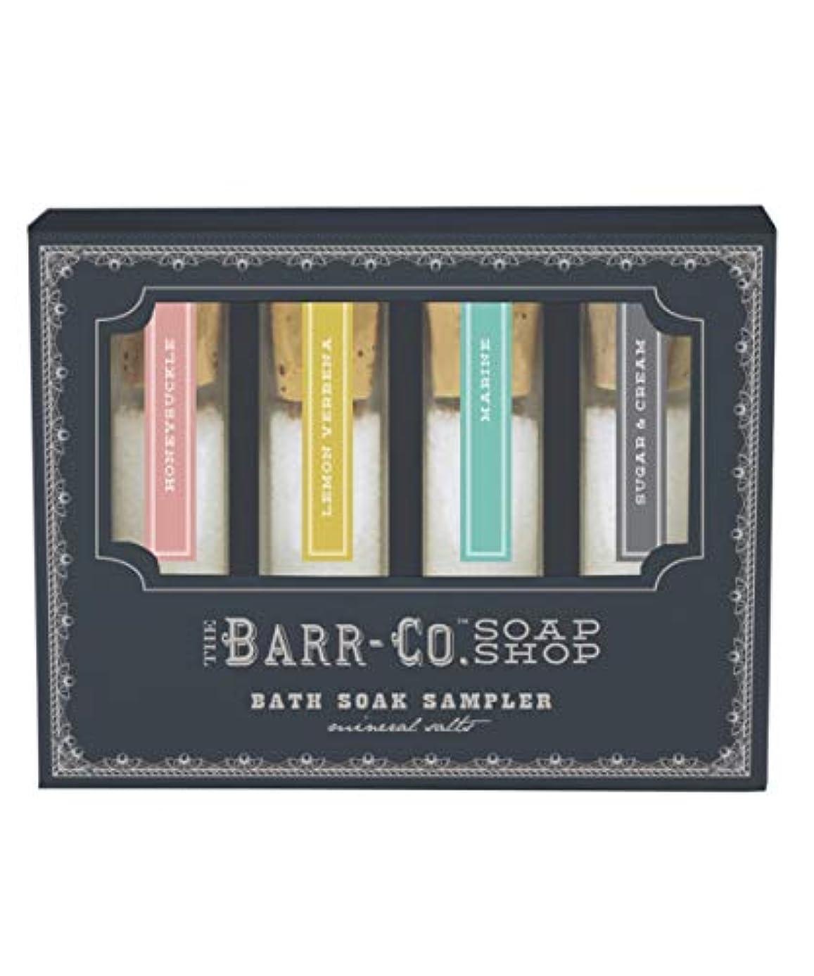 雪のサイズネイティブバーコ(BARR-CO.) BARR-CO./バスソルトセット 入浴剤 30g×4