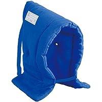 デビカ 防災頭巾 ブルー サイズ:約W30×D7×H42cm
