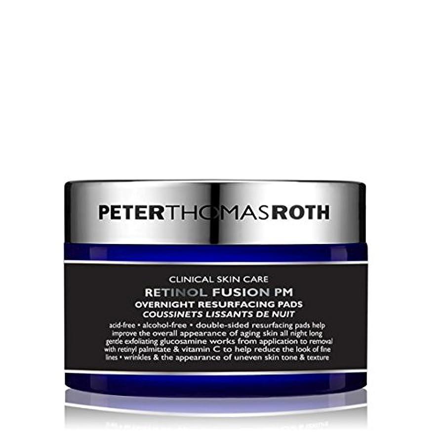 養うクレーター任意PETER THOMAS ROTH - Retinol Fusion PM Overnight Resurfacing Pads [並行輸入品]