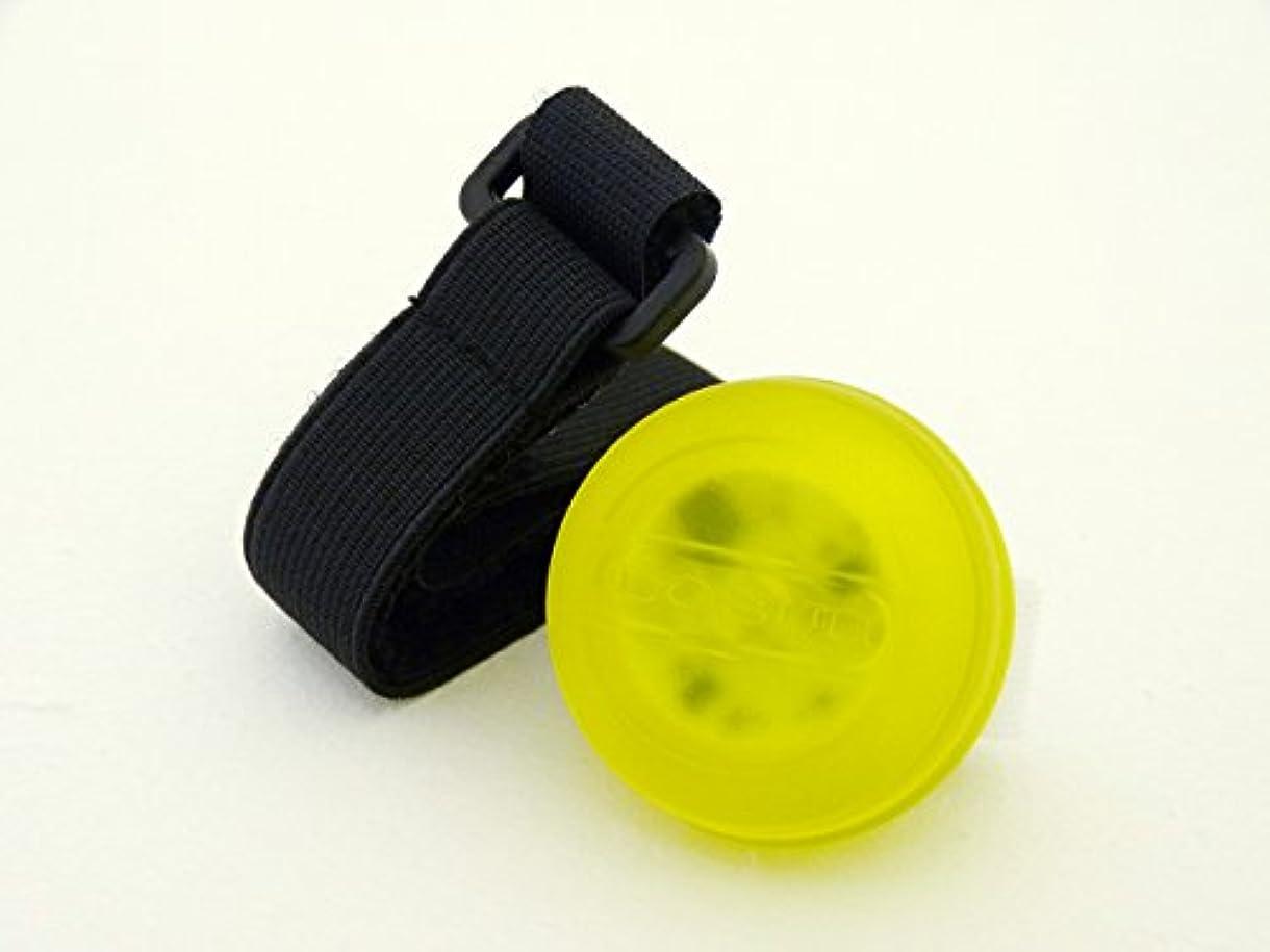 憂鬱な必要ないちらつきジェフリーズ 自転車ライト macaron 2灯式 LEDライト フロントライト/テールライト(切り替え可能) Yellow イエロー JP8064