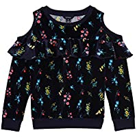 Nautica Girls' Big Long Sleeve Holiday Fashion Tops