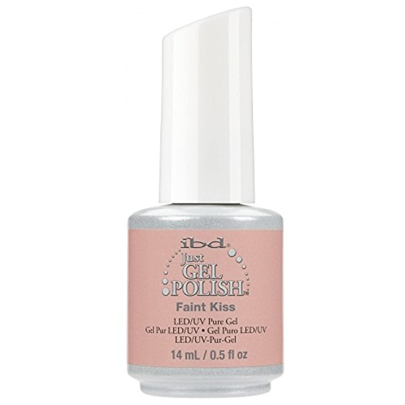 固執ずらす傑出したibd Just Gel Nail Polish - 2017 Nude Collection - Faint Kiss - 14ml / 0.5oz