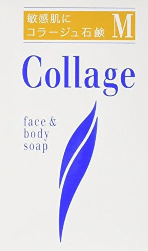 セメント遡る反響するコラージュ M石鹸 100g